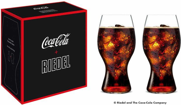 コカ·コーラ + リーデルグラス(2個入)