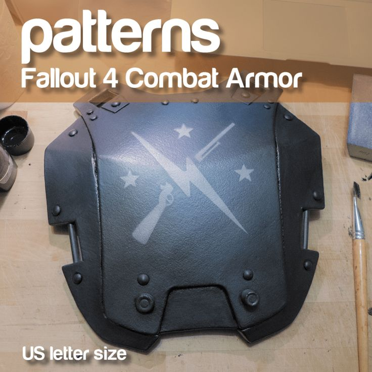 Fallout 4 Combat Armor patterns – PDF/DIN A4 size