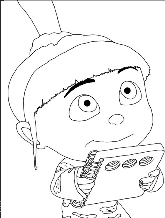 Coloring Book Minions : 55 best libro de ana images on pinterest