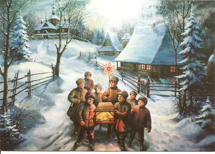 картинка славянское рождество протяжении дачного