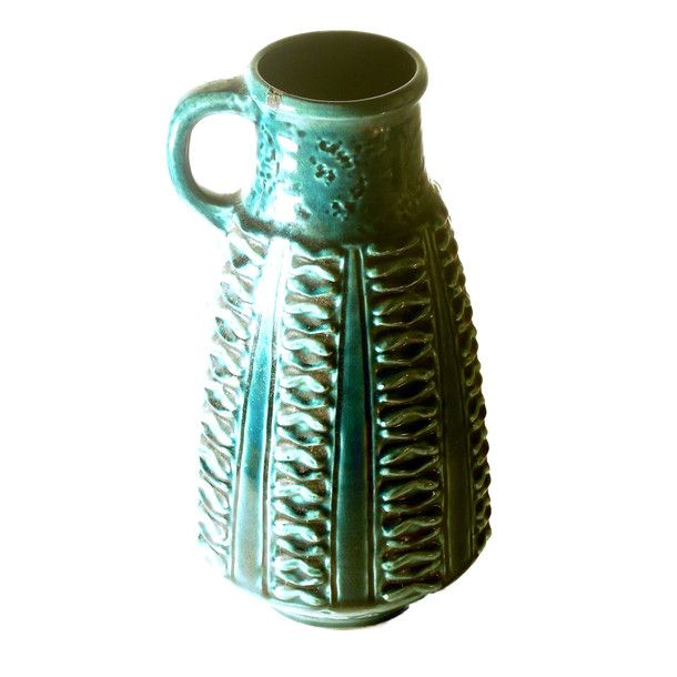 West German Pottery Pitcher