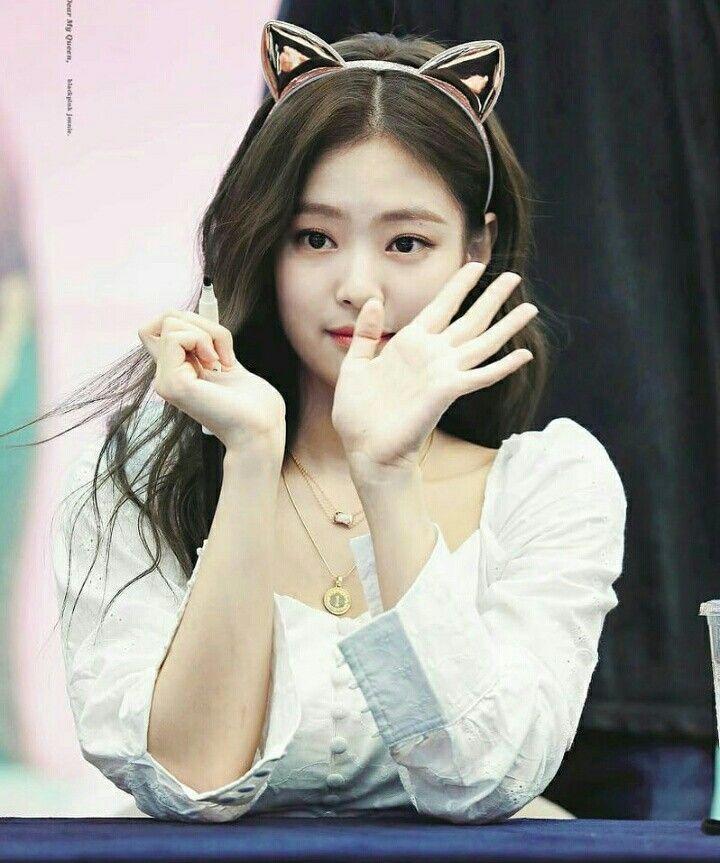 08a3a5519 beauty #cute #Jennie #BLACKPINK #Fansign | BLACKPINK di 2019