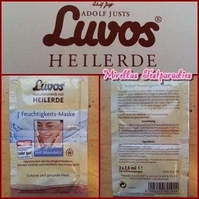 Die Luvos Heilerde Feuchtigkeits-Maske ist sehr angenehm.