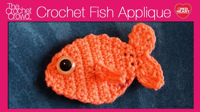 The crochet pattern is free and this fish appears on the side of the Cat Paws Christmas Stocking.