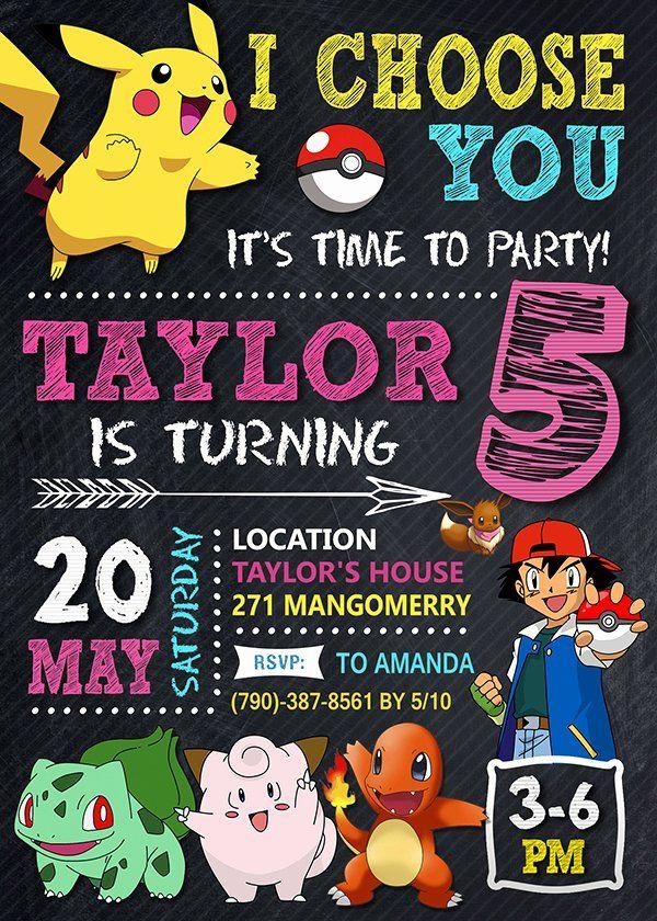 Pin On Birthday Invitation Ideas
