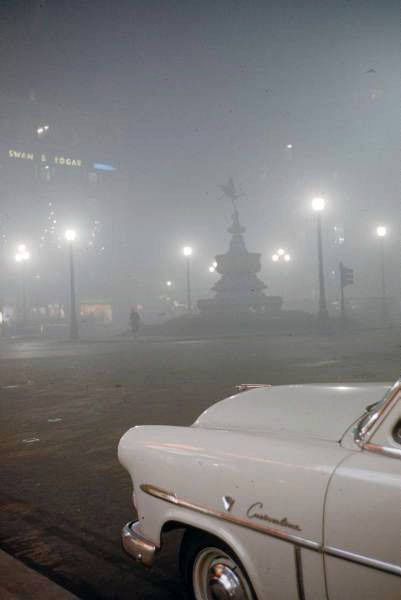 London Smog, December, 1952
