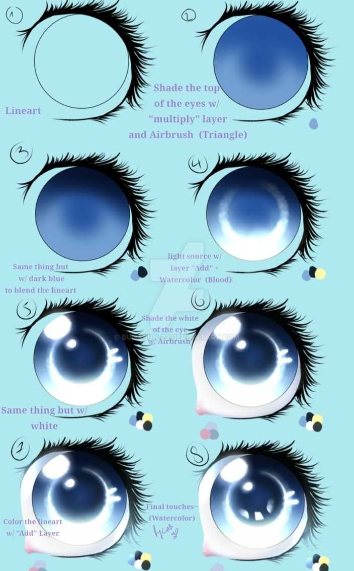Image Result For Ibis Paint X Anime Eye Drawing Anime Eyes Painting