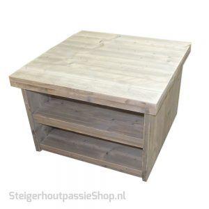 Steigerhouten Salontafel vierkant