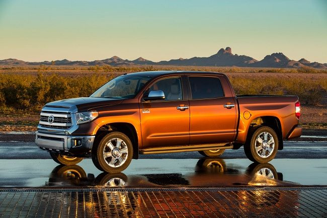 The 2014 Toyota Tundra was revealed today at the Chicago Auto Show and we're so excited at Toyota of Orlando! Learn about all the upgrades available on this new model and the two new trim levels added to the lineup!     http://blog.toyotaoforlando.com/2013/02/the-2014-toyota-tundra-is-unveiled/