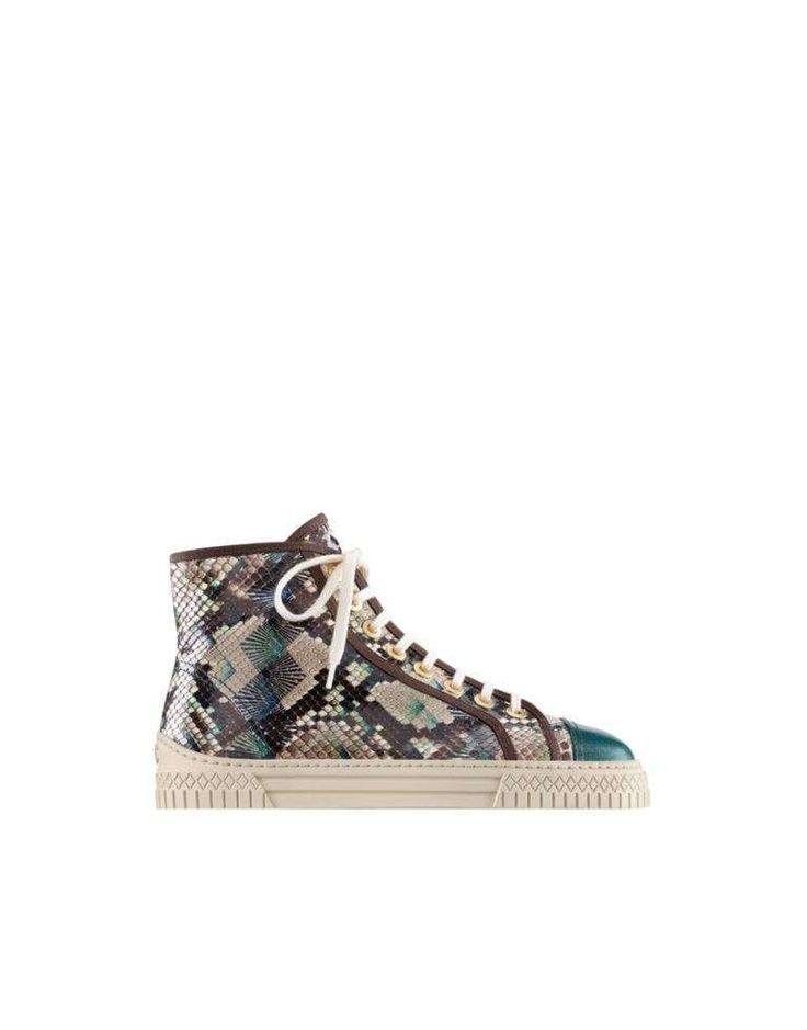 Collezione scarpe Chanel Cruise 2017 - Sneakers combinate