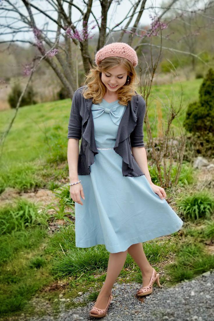 Fresh Modesty: Resurrection Day! {{looks like something my Abby would wear!}}