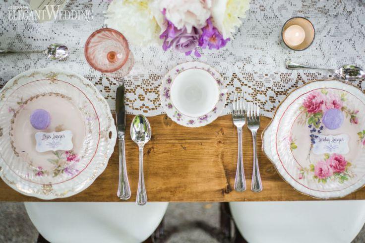 FRENCH VINTAGE LAVENDER WEDDING INSPIRATION   Elegant Wedding