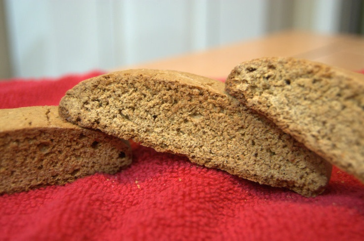 365 Days of Baking: Day 284 - Day 11 of the 12 Days of Cookies - Gingerbread Biscotti