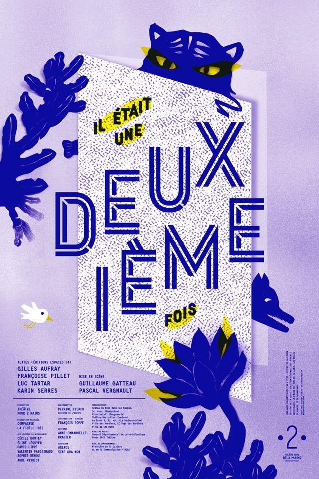 théâtre pour deux mains by Stéphanie Triballier, Le jardin graphique