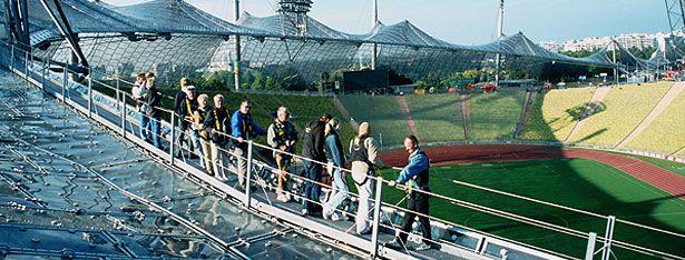 Olympiapark München :: Die Zeltdach-Tour :: Zeltdach-Tour, Geführte Touren in München, Besichtigungen München, Olympiastadion München