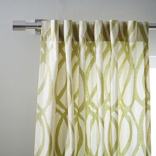 16 best images about curtains on pinterest window for West elm window treatments