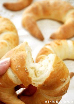 ✿Eternal happiness✿ クリスマスパン キプフェル~クレセントロール~。 2010.11 キプフェル クラム