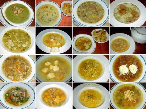 Zavářky a vložky do polévky: játrové knedlíčky, nudle, domácí celestýnské nudle, kapání do polévky...