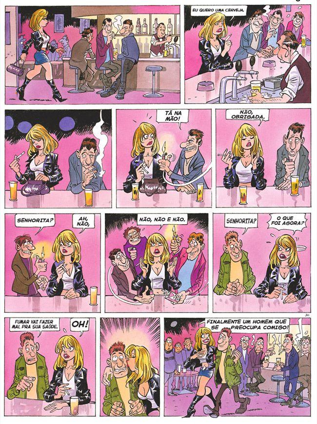 Quadrinhos Picantes | Satirinhas