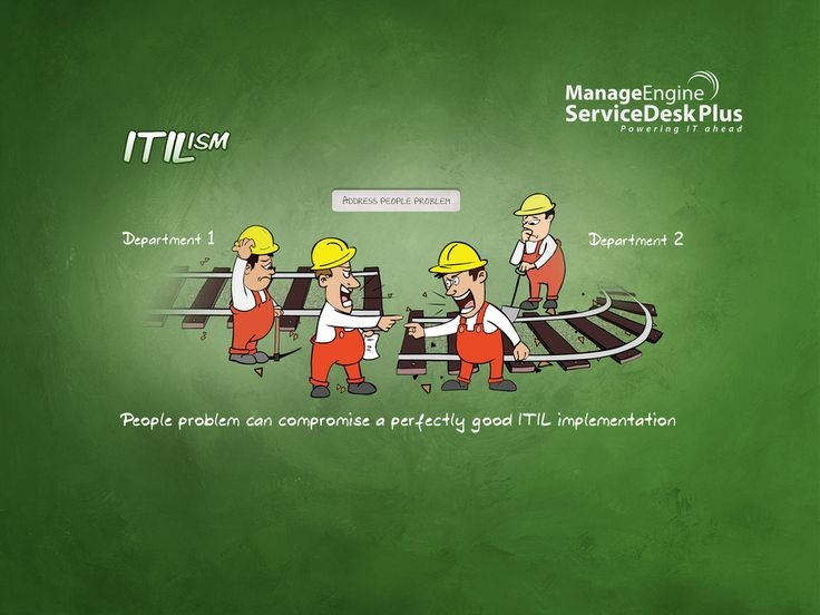 People Problem can compromise a perfectly good ITIL implementation