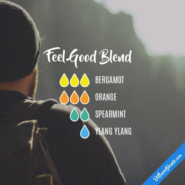 Feel Good Blend - Essential Oil Diffuser Blend
