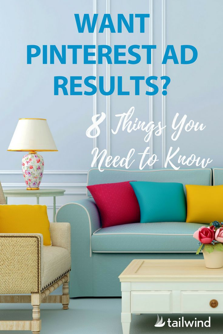 Would you like to increase your Pinterest advertising results & reduce your ad spend - or just make sure your first campaign is a success? Check out our Pinterest Promoted Pin tips today! via @tailwind