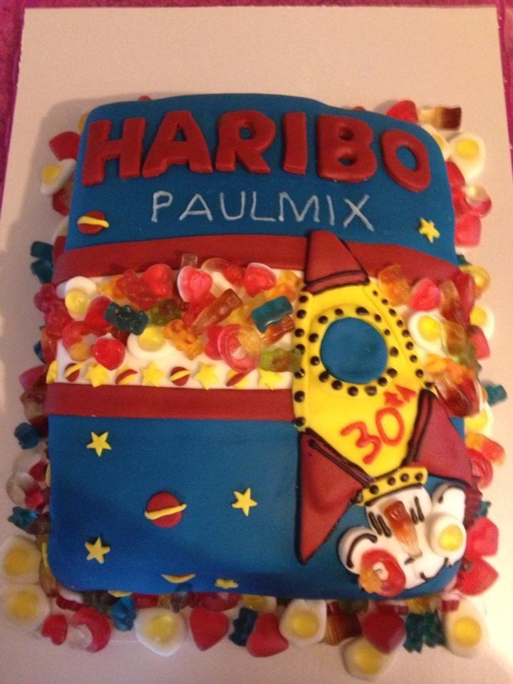 haribo cake