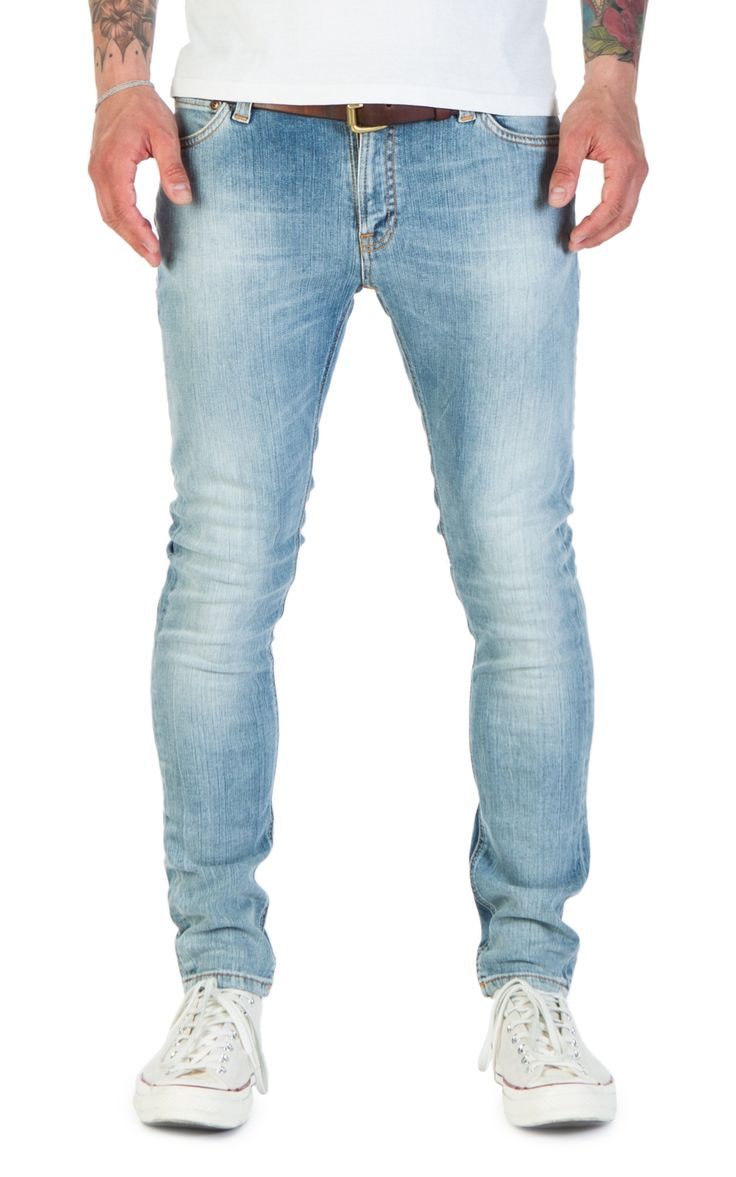 CULTIZM - RAW DENIM. BEST BRANDS. - Nudie Jeans Skinny Lin Crispy Orange Nudie Jeans Skinny Lin Crispy Orange 112460