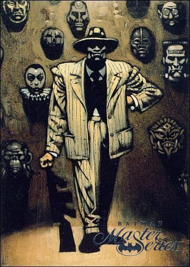 "comicbooktradingcards: "" Batman Master Series - Series 1 (1996) #38 Black Mask """