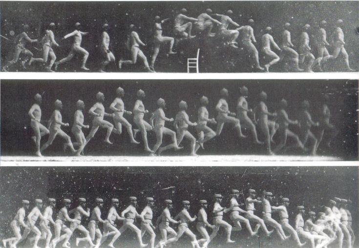 Marey - foi um nome importante na fotografia mas ainda mais para o cinema. Trabalha com a fisiologia, locomoção humana e animal