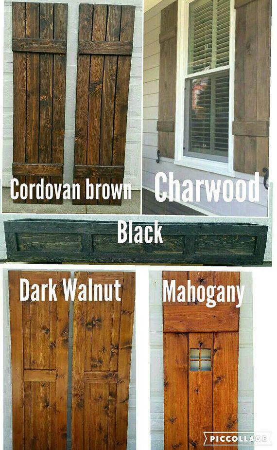 17 Best Ideas About Cedar Shutters On Pinterest Wood
