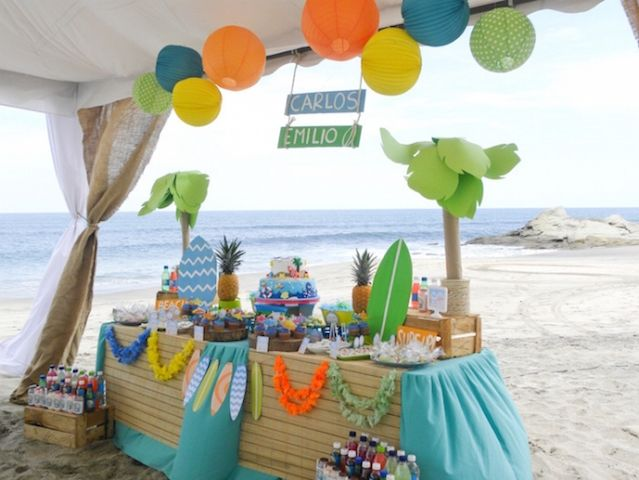 Birthday Party Ideas At The Beach