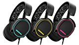 SteelSeries Arctis 5 Gaming Headset with RGB Illumination and DTS Headphone:X 7.1 Surround for PC, PlayStation 4, Xbox One, VR, Android and iOS - Black  🕹 #Game #Video_Game #Mac