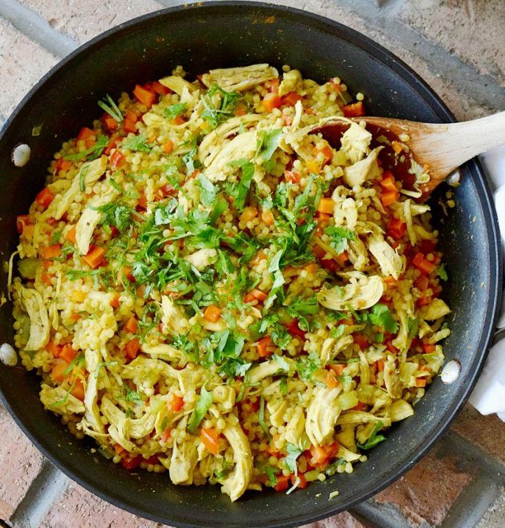 Marmah 243 N Con Pollo Honduran Couscous With Chicken Recipe Honduran Recipes Hispanic