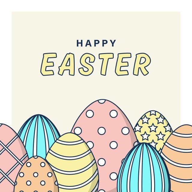 Happy Easter Eggs Vector Design Happy Easter Eggs Png And Vector With Transparent Background For Free Download Happy Easter Happy Easter Day Easter Eggs