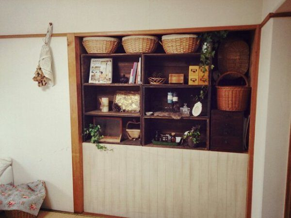 お部屋作りのオシャレDIYアイデア♡押入れをステキに大変身! | ギャザリー(2ページ目)