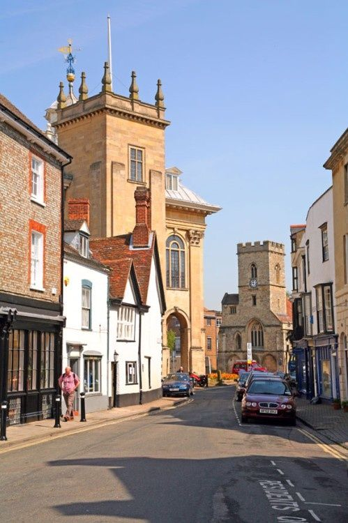 A picture of Abingdon;  My 9th great grandfather was Lord Mayor of Abingdon England, William Branch b.1524-1601 AD
