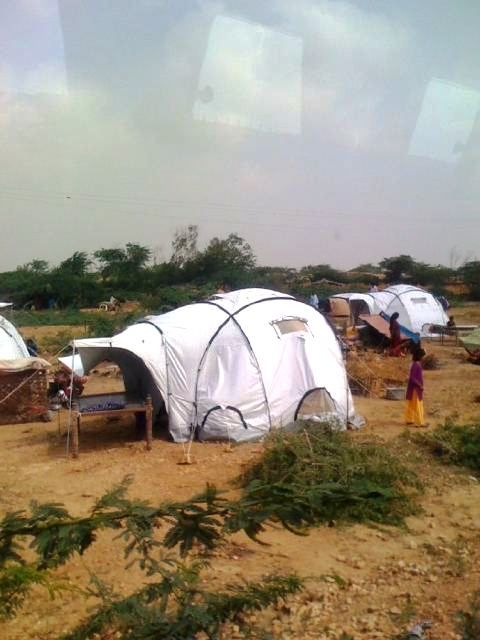After the 2010 floods, ADP partnered with UNHCR to deliver emergency shelters to Bhan Saeedabad, Sindh. We also raised over $5,000  for Network for Education and Economic Development Services (NEEDS) to install hand-pumps for clean drinking water.