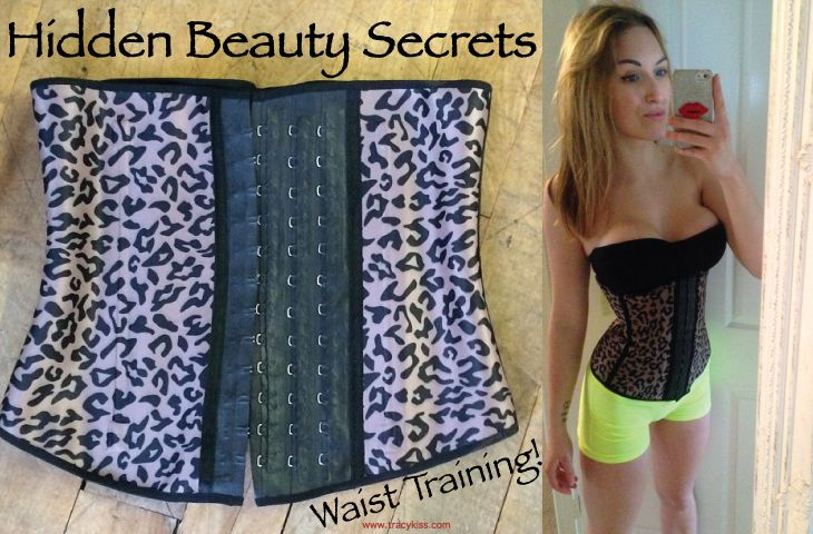 Wearing the waist training corset is surprisingly comfortable, compressing the stomach and hips to assist weight loss and shape the body.