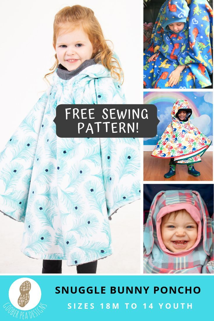 Baby Poncho Sewing Pattern : poncho, sewing, pattern, Printable, Sewing, Pattern, Poncho,, Purchase/email, Necessary,, Re…, Poncho, Pattern,, Sewing,, Carseat