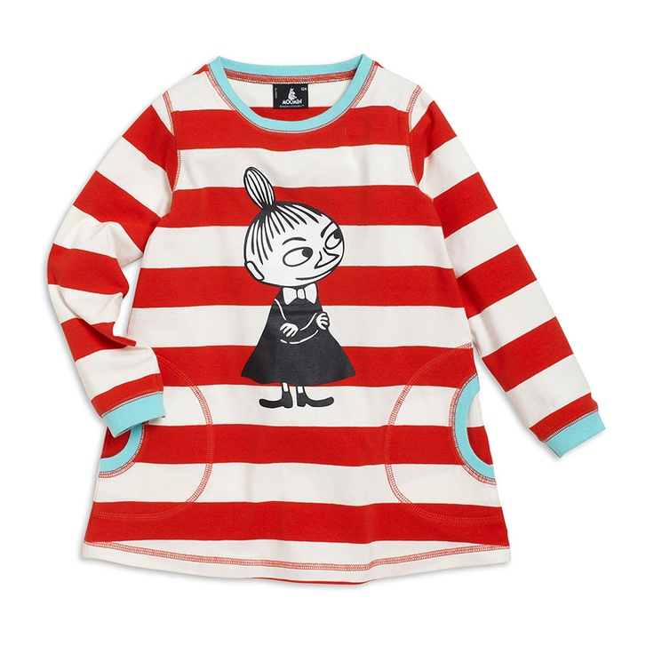 Cute casual kiddo dress with Moomin as the star! ~ Adorable!