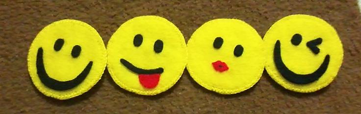 :) :p :* ;)  smiley