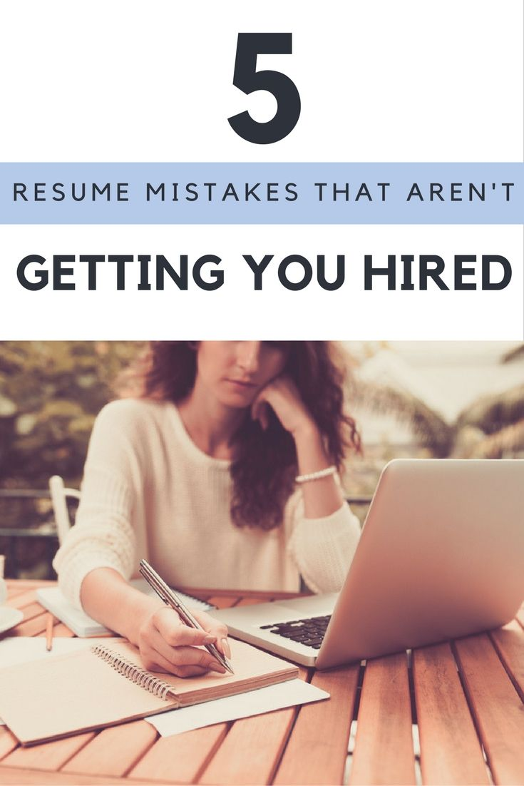 Donu0027t make these resume mistakes 92 best