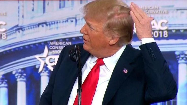 ICYMI: Trump admits he's going bald in CPAC speech
