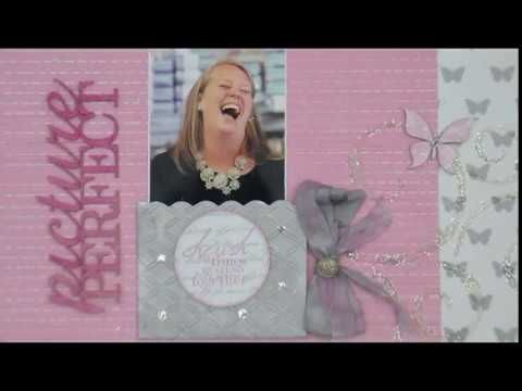 Picture Perfect Metallic Silver & Pink - YouTube