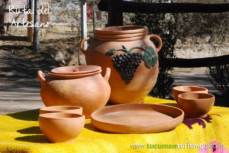 Piezas únicas realizadas a mano, conocé y disfrutá del recorrido por la #RutaDelArtesano! #TucumánTuDestino http://www.tucumanturismo.gob.ar/rutas-…/…/ruta-del-artesano