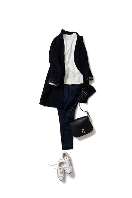 Kyoko Kikuchi's Closet | コートスタイルを今のスポーティーさで楽しむ