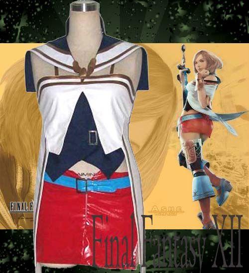 Final Fantasy Cosplay Ashelia Cheap Uniforms