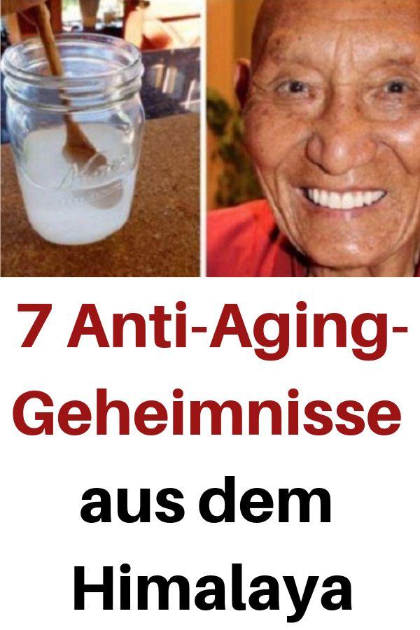 7 Anti-Aging-Geheimnisse aus dem Himalaya #himalaya #Geheimnisse #gesundheit #re…