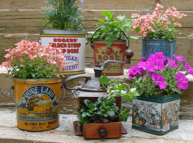 "Vintage Garden - Recently, while helping my uncle, the antique auctioneer, prepare for his ""comeback auction"" after 7 months of retirement (I've never met an an�"